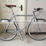 Alibaba trade assurance 700C single speed road bike/fixed bike made in China