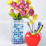 Funny DIY mosaic craft kit glass mosaic vase