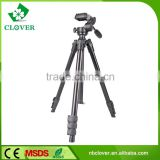 Folding leg system aluminum tube professional video camera tripod