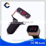 New Usb Car Charger With Voltage Current Tester