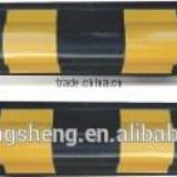 Black and Yellow Rubber Reflective Garage Corner Guard