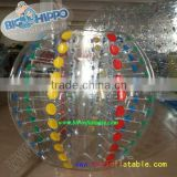 Hot sale top quality Dia1.2m/1.5m/1.7m&TPU/PVC soccer bubble,inflatable bubble football,human bumper ball