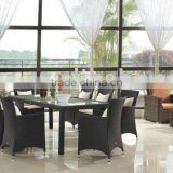Excellent Quality Outdoor Furniture Rattan Dining Sets (BZ-D031)