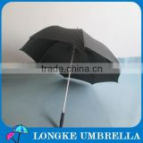 "High quality aluminum shaft fiberglass ribs 30"" auto open golf umbrella"