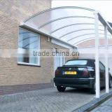 polycarbonate hollow sheet for roofing garage,polycarbonate carport,polycarbonate garage