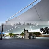 High Tensile Strength Waterproof PTFE Teflon Roof Covering Fabric