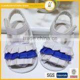 2015 lovely Sweet lance rubber sole high quality lastest design kids baby sandals shoes for girl