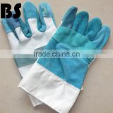 BSSAFETY short cow split leather welding safety gloves
