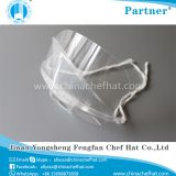 Anti-fog clear plastic transparent face mask