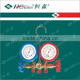 "Dual R12,R134A Auto AC Manifold Gauge Sets(1/4""Sae Connection)/ Manifold Gauge Sets/Gauge valve"