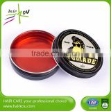 2016 best china wax hair gel/ water based hard best ahir gel brand pomade for short hair
