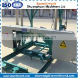 portable electric horizontal sawmill machine wood bandsaw machine