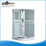 Tempered Front Glass And Printed Back Glass Top Cover Shower Room