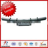 Suspension System bogie axle leaf spring