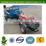 Hot sale factory price power trailer tractor made in China ! 8hp to 22hp diesel walking tractors with accessories for sale !