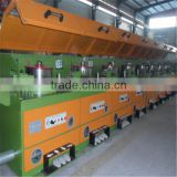 Straight line low carbon low wire drawing machine flux core wire manufacturing machine copper wire drawing machine