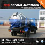 china brand top sale sewage suction truck with vacuum pump for sales