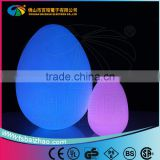 remote control waterproof color changing led egg ball / wireless led table lamp / led cylinder lamp made in China
