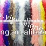 New Style Fashion Mix Colors 200cm Ostrich Feather Boa For Decorate cheap ostrich feather boas