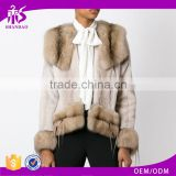 Guangzhou Shandao High Fashion Wholesale Cheap Long Sleeve Women Raw modern mink fur coats