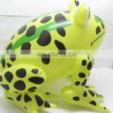Inflatable frog toy for water toys