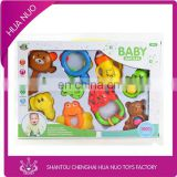 Plastic baby toys, baby rattle, baby rattle socks