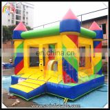 Factory price summer playground colorful inflatable indoor bouncer castle,mini castle jumper for kids