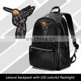 High Quality Pretty School led backpack human billboard advertising