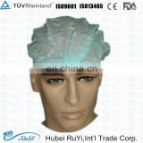 non-woven mob cap/surgical mask with tie