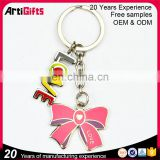 Custom souvenir funny couple LOVE weeding keychain