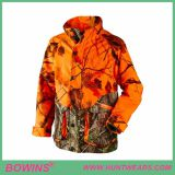 camouflaged waterproof shooting hunting jacket