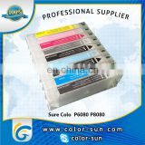 high quality refillable ink cartridge with chip for Epson sure color P6080 P8080