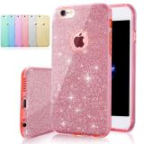 New 3in1 Layers Bling Glitter Shockproof Soft Gel Case Cover For Mobile Phone