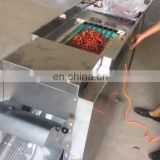 Seeds separate red pepper Slicer Machine Dry Chili Stem Cutting Machine capacity 500kg/h dry pepper seeds separating machine