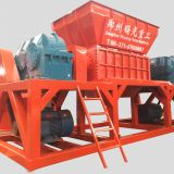 Plastic shredding machine double shaft shredder