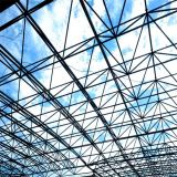 Roof steel grid structure Prefab Steel Space Grid Frame House Structural Roofing construction