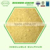 Chemical for Industrial Use Container Shipping from China 9035-99-8 Rubber Vulcanizing Agent Insoluble Sulphur OT20