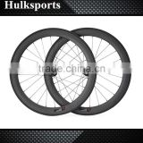 Wholesale Disc Brake bicycle wheel 700c full carbon road bike Clincher wheel carbon fiber bicycle wheel