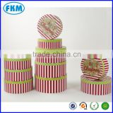 new style fashion round tower gift boxes