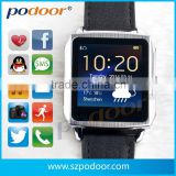 Mobile phone accessory in china smart E-ink watch ,MTK 6260 smart gadgets smart watch, smart E-ink watch