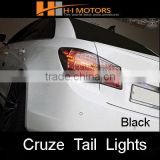 Chevrolet Cruze LED tail lights lamp (black) GM