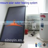complete solar water heater system for home with flat panel solar thermal collector                                                                         Quality Choice