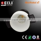 BIS approved no-edge led light downlight,led downlight housing with high PF driver and pure aluminum