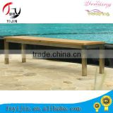New design garden table and benches for wholesales