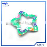 STAR SMALL PLASTIC HAIR CLIP FOR GIRL , HOT SELL 2013