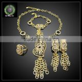 New Arrival 4pcs/set jewelry set,Party Jewelry set for woman'dress BHK647