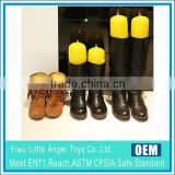 PVC Inflatable boots Stopper Inflatable Shoes Support