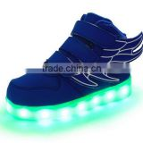 Lastest Kids Girls Boys LED Light Up Sneakers Luminous Casual Flashing Usb Charger Led Shoes