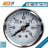 (Y-40D) 40mm micro size good quality high accuracy low pressure center back style manometer gauge