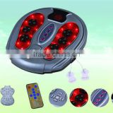 Heating & infrared & vibration &acupuncture function foot care massager 8855A